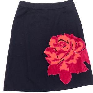 Boden large flower skirt - 10